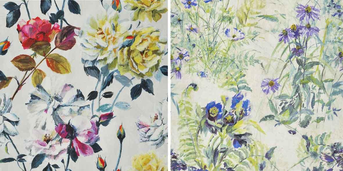 Couture Rose & Paysage Linen Designers Guild