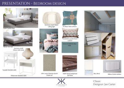 Moodboard Calm bedroom